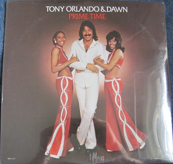 Sealed Tony Orlando And Dawn Prime Time Lp By