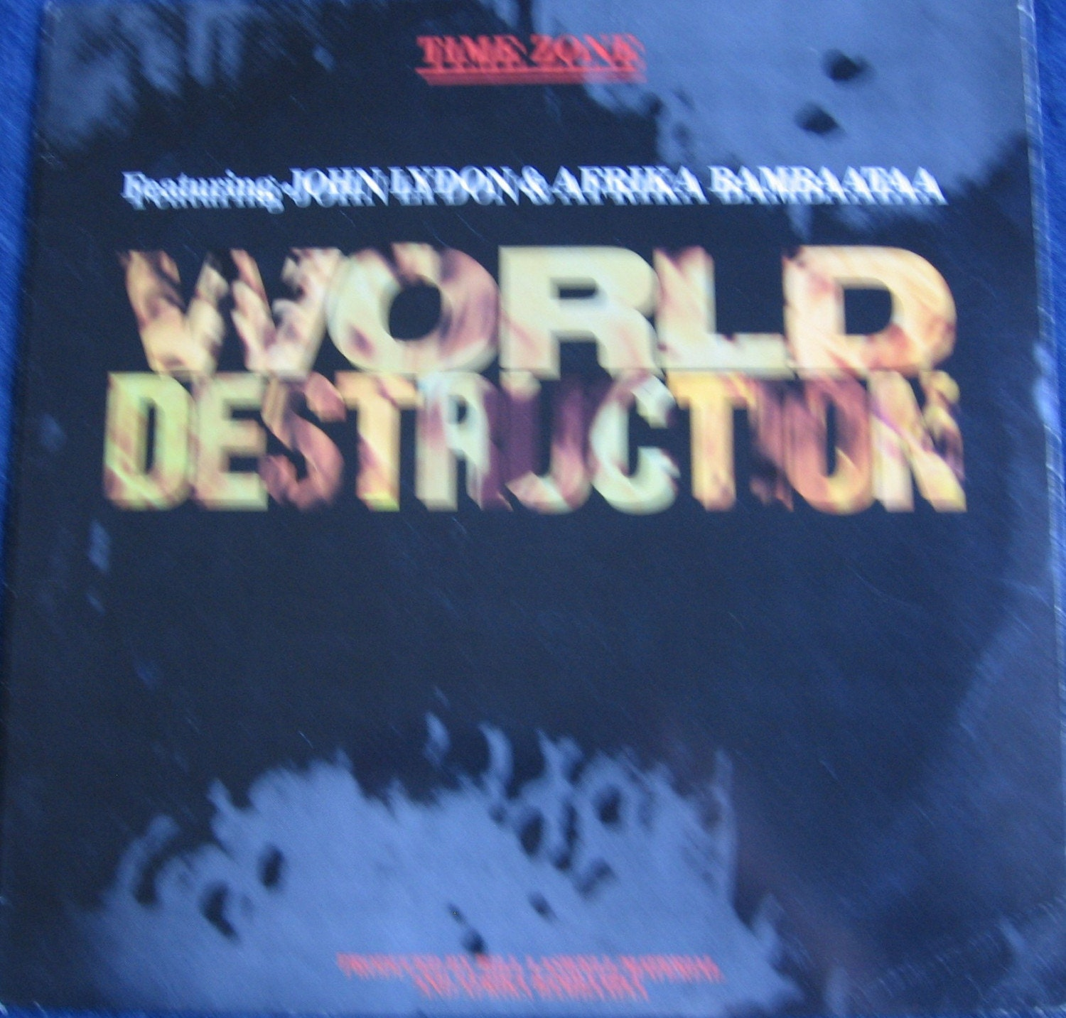 Time Zone World Destruction 12 Inch Single By