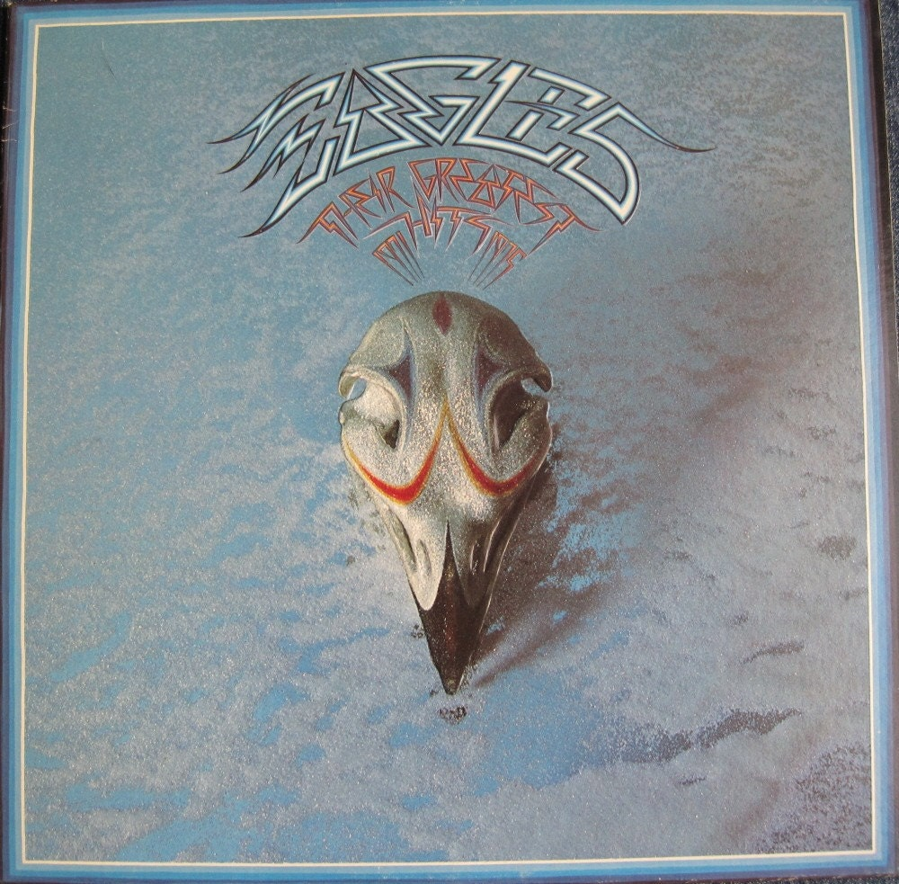 The Eagles Greatest Hits Lp 1976 Rare Original Embossed Cover