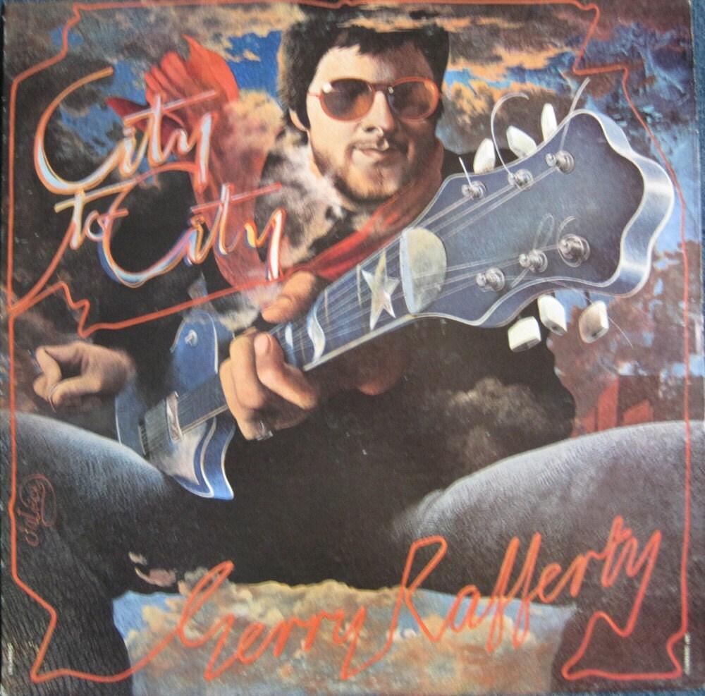 Gerry Rafferty Baker Street City To City Lp 1978 Rare Original