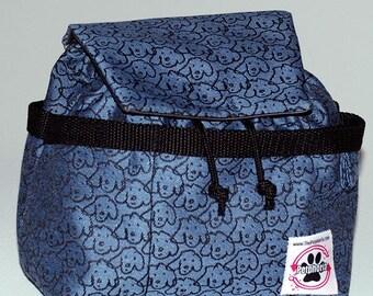 William Wegman - Designer Bag w/plastic liner and pockets