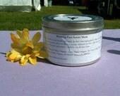 SEPTEMBER SALE 40% OFF  Relaxing Face & Body Scrub/Mask - 3.5 oz tin