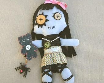 Kawaii Goth Rag Doll