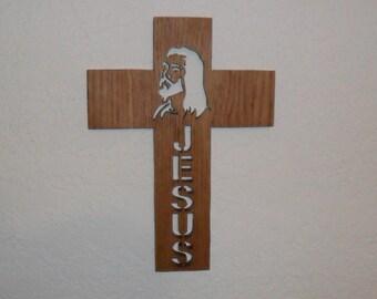 Jesus Wooden Wall Cross C71