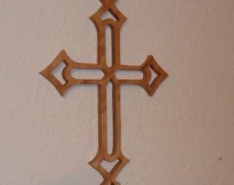 Wooden Wall Cross C56