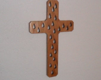 Wooden Wall Cross C4