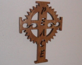 Wooden Wall Cross C57