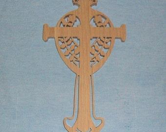 Wooden Wall Cross C72