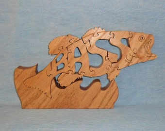 Bass Wooden Puzzle