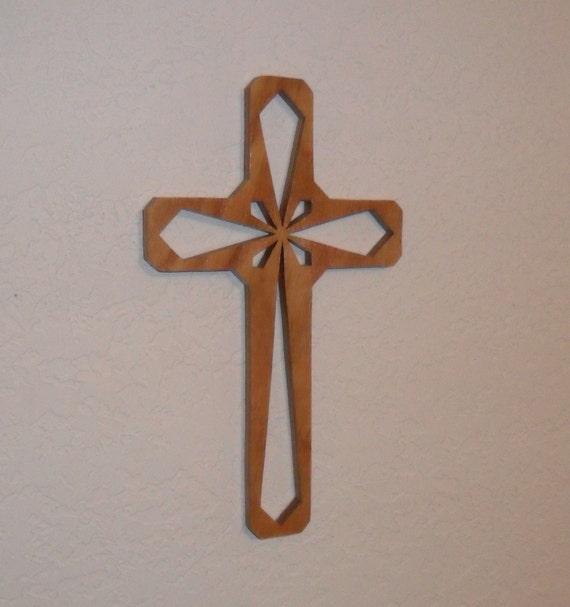 Wooden Wall Cross C46