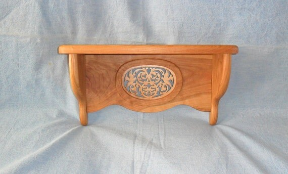 Dove Wooden Scroll Saw Shelf