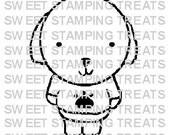 Baby Puppy - digi stamp