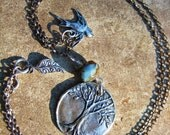 SPECIAL ORDER FOR CATHERINE...Tree of Life .... necklace