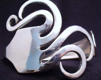 Upcycled Fork Bracelet Silverware Eco Friendly Antique Jewelry