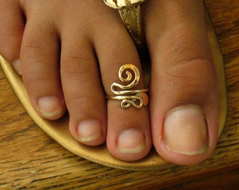 12k Gold Filled Toe Ring