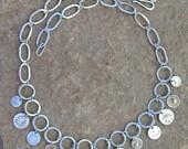 Golden Sun Coin Necklace