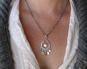 Chandelier Heart Necklace