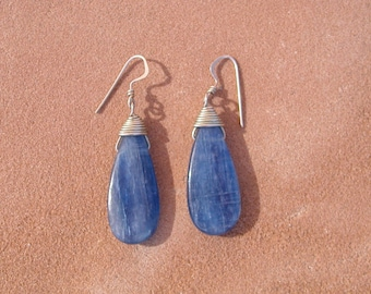 Kyanite Drop Earrings