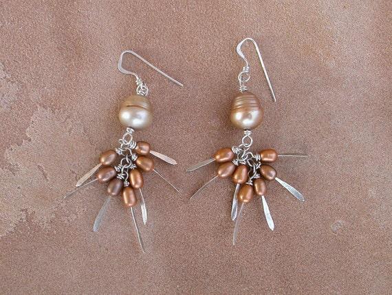 Festive Pearl Earrings