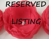 RESERVED LISTING for tragicallychic