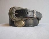 Harley Davidson Concho Belt