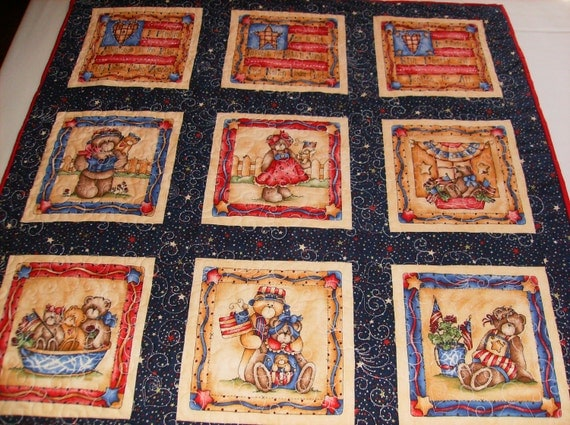 Patriotic Quilted Wall Hanging