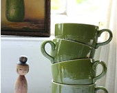 green grass coffee mugs