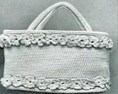 Vintage Hand Bag Crochet PDF Pattern
