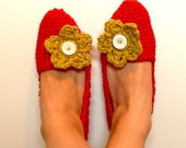 Alice Slippers-Poppy/Dijon