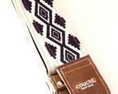 Native American Guitar Strap - Limited Edition - Vegan - couchguitarstraps