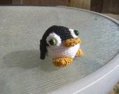Tiny Amigurumi Penguin - cutest EVER