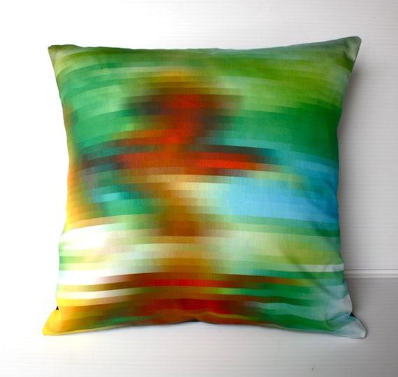 decorative pillow cover, cushion cover, eco friendly organic cotton throw cushion 16x16