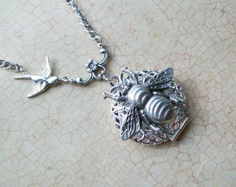 Birds n Bees Enchanted Scent Locket