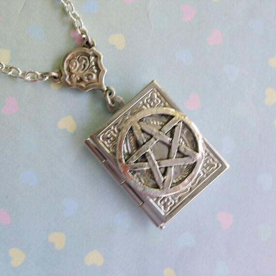 Enchanted Magickal Book of Spells Locket EXCLUSIVE DESIGN