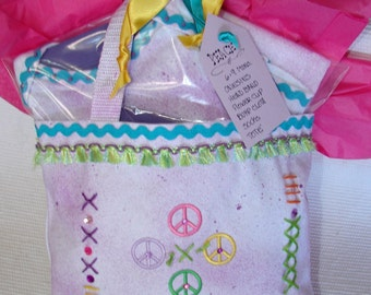 Peace Baby Girl Outfit