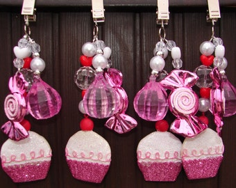 Table Cloth Weights Cupcakes and Candy