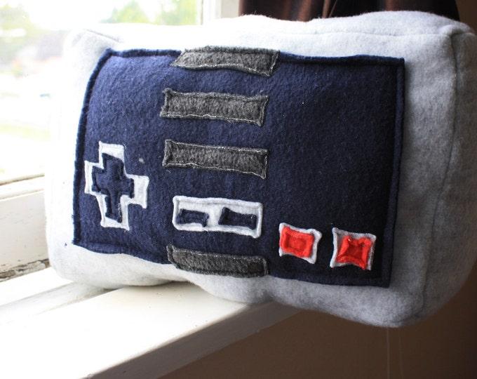 Classic NES Controller Plush Pillow
