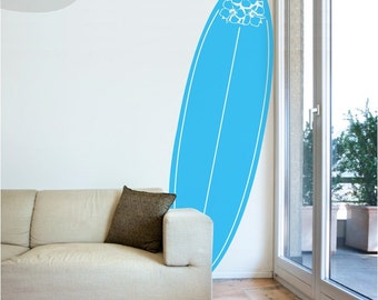 Pura Vida Surfboard - Vinyl Wall Decal