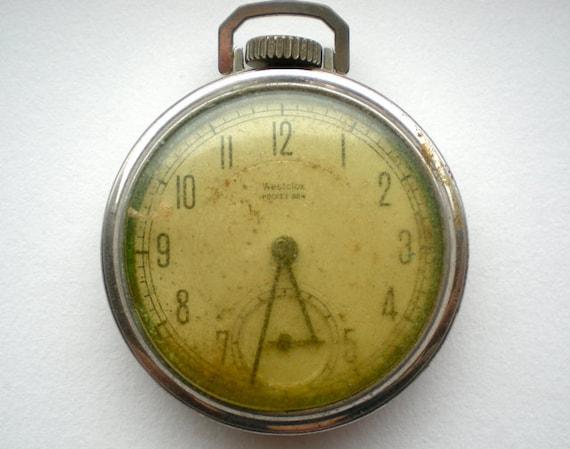 Vintage Pocket Watch for Parts (E)