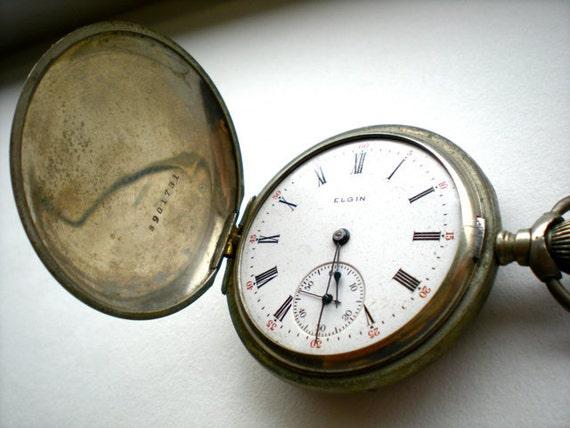 Antique Elgin Pocket Watch for Parts (I)