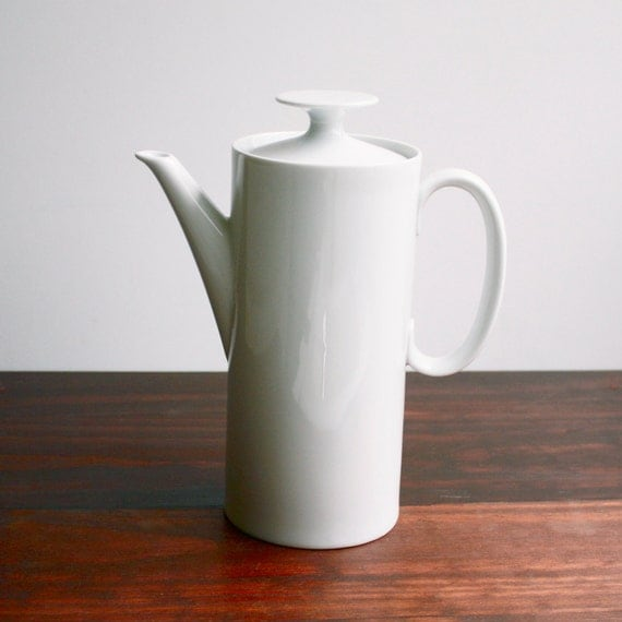RESERVED FOR MICHELLE Midcentury Thomas Coffee Pot - Made in Germany