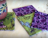Set of 4 Coasters Reversible