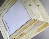 Reclaimed wood picture frame, mirror by heidiBARKUNframes on Etsy - De Cambrai Collection (deC7)