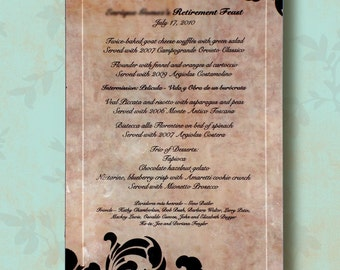 CUSTOM Wedding Invitation WallWearz Bevelled 6 x 9 Wall Plaque-  Memories of a Special Day