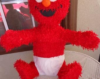 Elmo pinata, Sesame Street Party, Baby Elmo