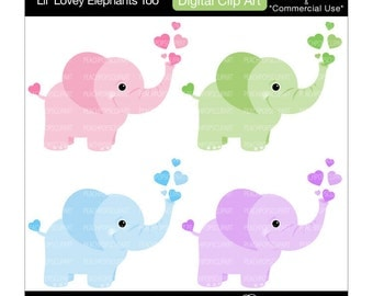 Baby Elephant Clip Art Baby Shower baby shower elephant clipart