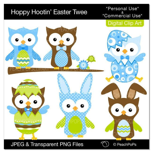 free easter owl clip art - photo #27