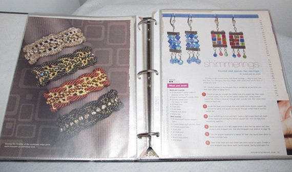 Big Notebook of Beading Patterns, necklaces, earrings, home decor