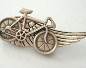 bicycle brooch