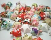 50 Washi Chiyogami Origami Lucky Stars